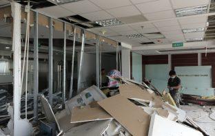 Dịch vụ dọn dẹp, phá dỡ hoàn trả mặt bằng văn phòng Buôn Ma Thuột