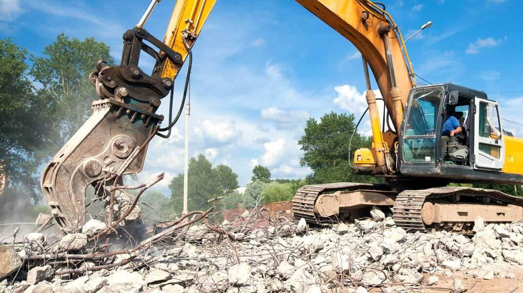 Dịch vụ phá dỡ công trình BMT
